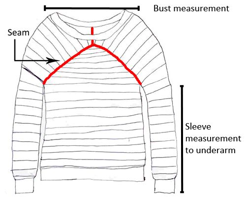 How to design a sweater from a picture. I hope this works. I do this all the time, but I never have any kind of pattern to follow.