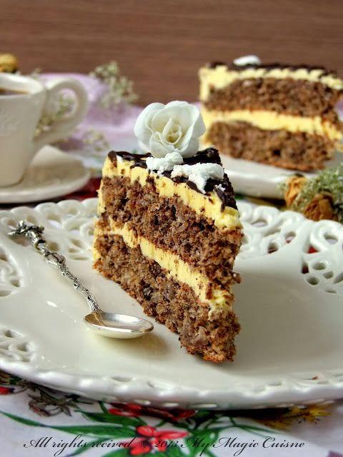 Recept je stari, iz mamine sveske. Dešava mi se često da zaboravim te stare recepte. Jednostavno dođe moda nekih torti i kolača, pa one ...