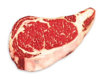 50 Day Dry-Aged USDA Prime Black Angus Bone-In Rib Steaks! Whoa!