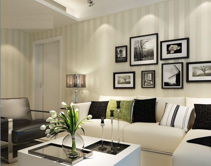 Европейский современный минималистский страна роскошные полосой обои для гостиной спальня телевизор фоне стены 2 цвета выбратькупить в магазине ShangHai DaWei E-Commerce Co., Ltd.наAliExpress