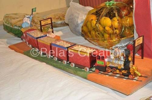 Dry Fruit Train For Wedding Packing And Decoration