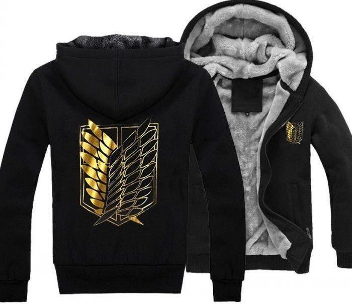 Attack on Titan anime jacket $33