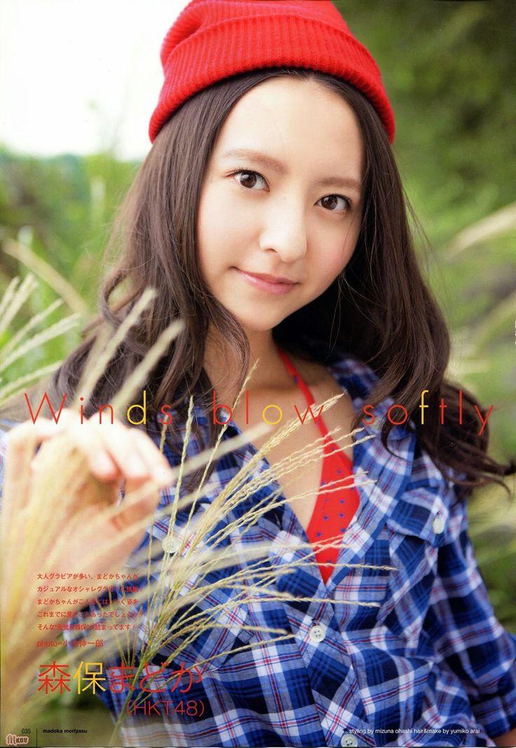 http://hebiroteakb48.blogspot.in/2014/10/hkt48-madoka-moriyasu-winds-blow-softly.html