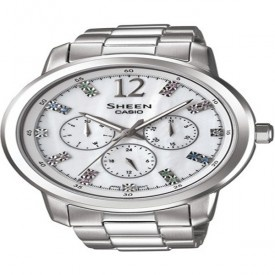 Buy Casio Ladies Watch: SHE-3802D-7ADR  in India online. Free Shipping in India. Latest Casio Ladies Watch: SHE-3802D-7ADR  at best prices in India.