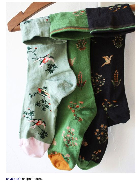 love colorful socks
