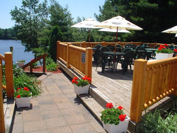 As is a meal at High Shores Supper Club. Get the awesome, authentic Wisconsin supper club experience while being about to sit outdoors and enjoy the beautiful surroundings.