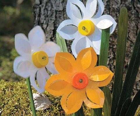 Украшение для дачи - своими руками: вертушка Нарцисс