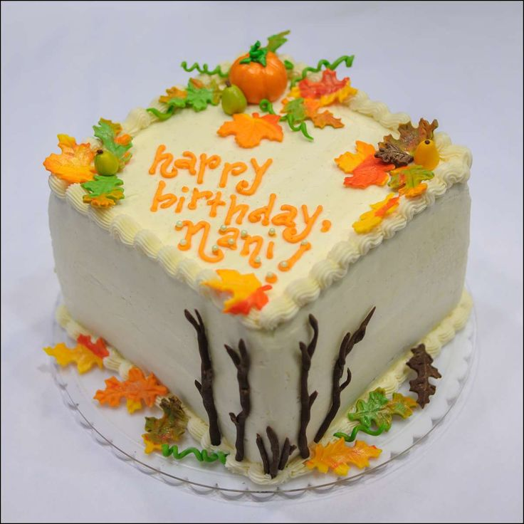 35 best Autumn themed cakes images on Pinterest Cake decorating