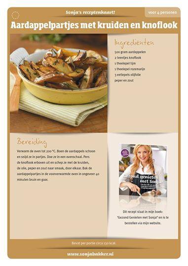 Aardappelpartjes met Kruiden en Knoflook