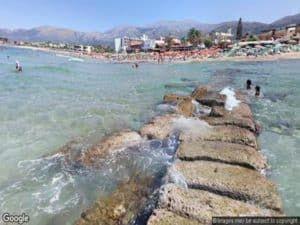 Malia Beach Crete
