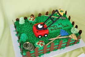 The Beehive: Lawn Mower Cake