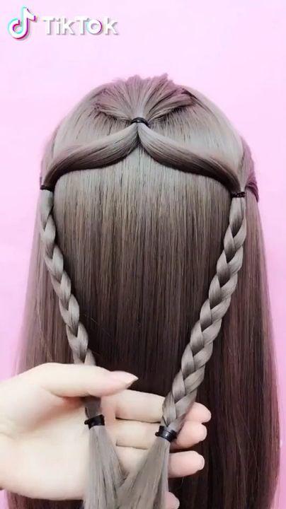 Stylish Hairstyle Ideas 😍