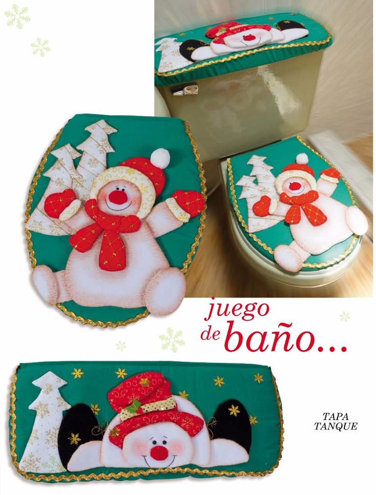 muñecos navidad para