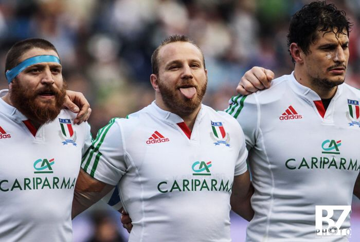 Leonardo Ghiraldini. Italrugby happy face. Six nations. Stadio olimpico