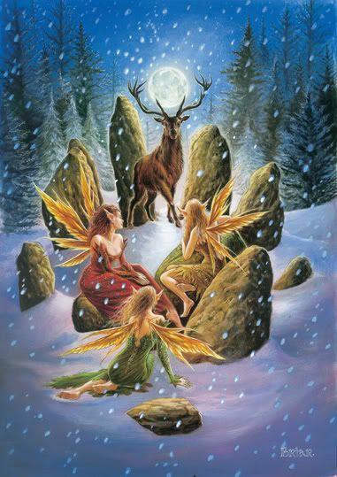 Yule time fairies