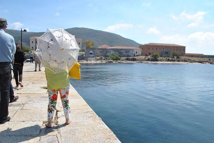 Meeting internazionale su ambiente e turismo a Stintino. 8 giugno 2013 Asinara: arrivo a Cala Reale