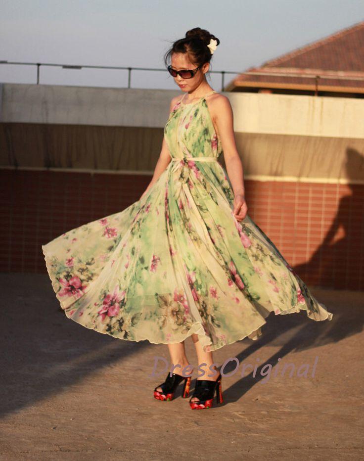 light green maxi dress floral/floral maxi dress/boho maxi dress/womens maxi dresses/summer maxi dresses/maxi dress/maxi dresses by DressOriginal on Etsy https://www.etsy.com/listing/201910189/light-green-maxi-dress-floralfloral-maxi