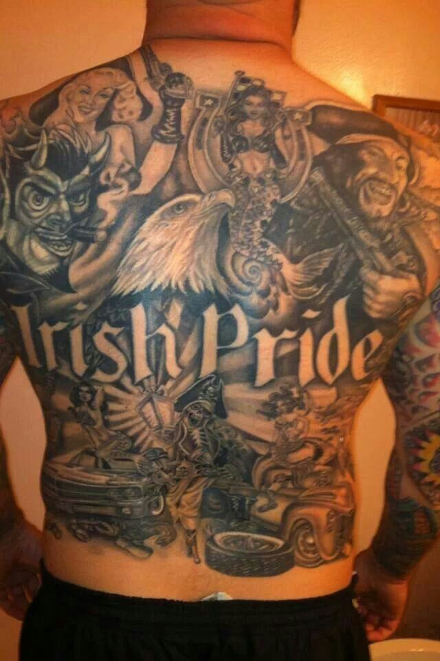 17 best images about irish tattoos on pinterest the for Irish canadian tattoos