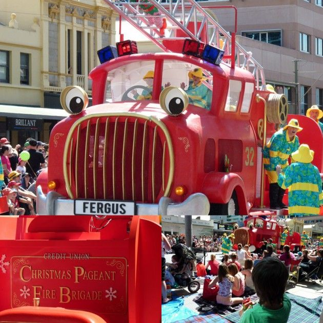 Credit Union Christmas Pageant Photos
