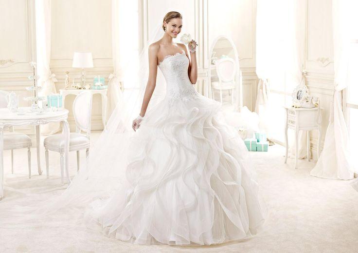 Moda sposa 2015 - Collezione NICOLE. DIAMARA NIAB15113IV. Abito da sposa Nicole.