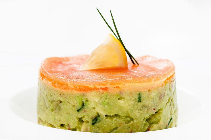 avocado and smoked salmon tartare - need translation.