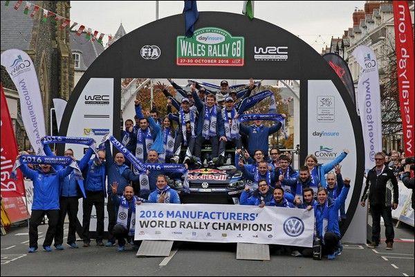 Volkswagen lascerà il WRC alla fine della Stagione 2016!