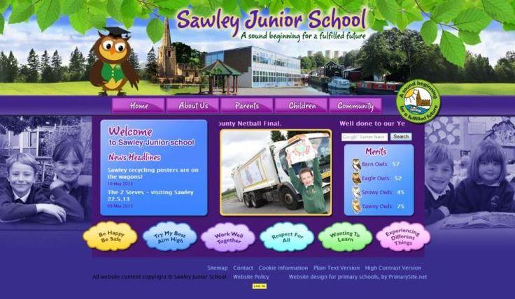 Sawley Home Page