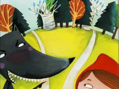 Little Red Riding Hood in French - histoire du petit chaperon rouge - YouTube