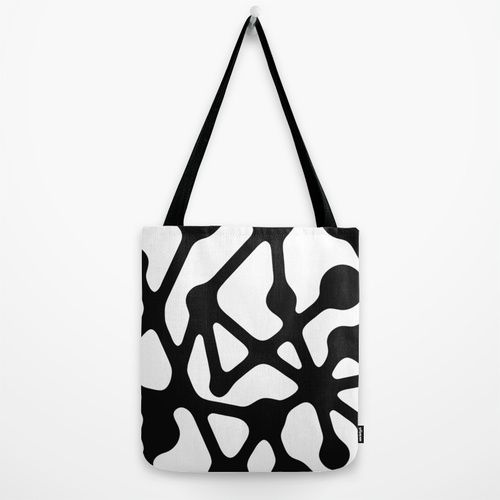 Constellation canvas tote bag By Muchö