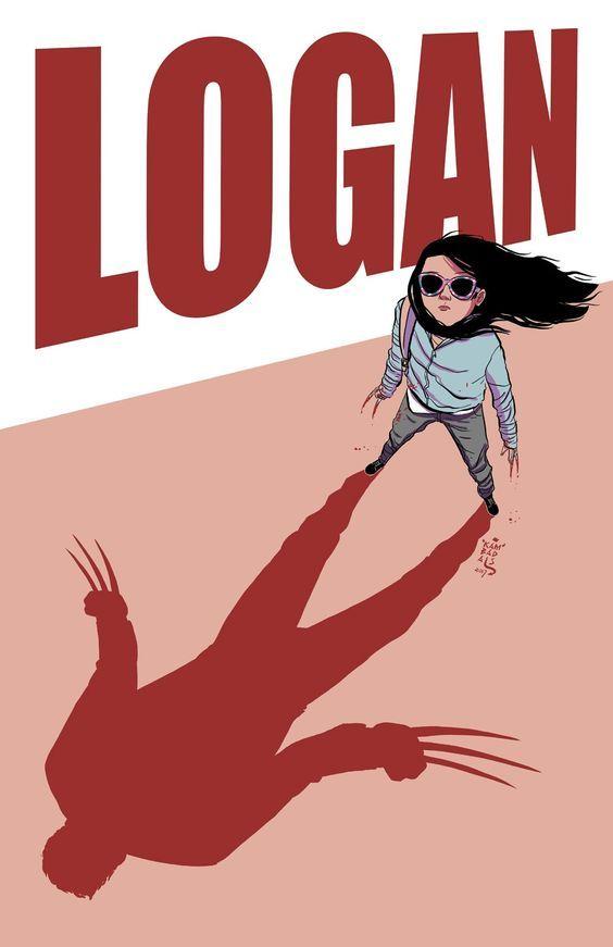 Logan - X23! Art Illustration By  #GeorgeKambadais #Logan #XMen #X23 #Marvel
