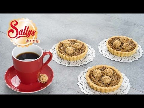 Giotto Mini-Tartelettes mit Haselnuss-Creme-Füllung - YouTube