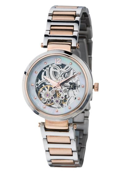 I love automatic movement and a skeleton watchface. Not crazy about the two tone metal. Kenneth Cole WOmen's Round Two-Tone Stainless Steel Watch