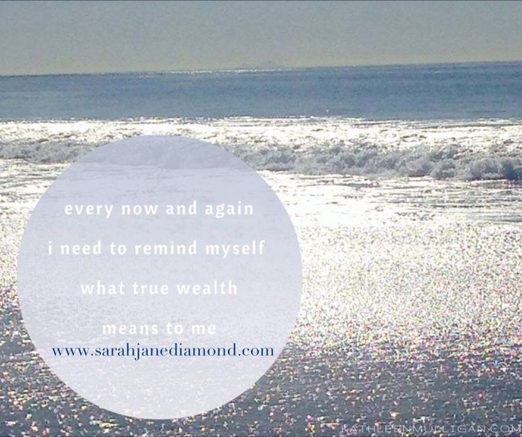 What does true wealth mean to you??