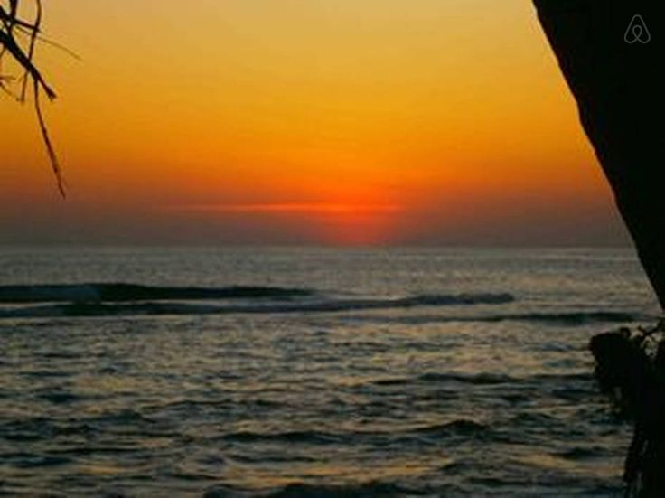Sun down at Azure Beach Villa  https://www.airbnb.co.uk/rooms/672267?af=187519&c=direct_link