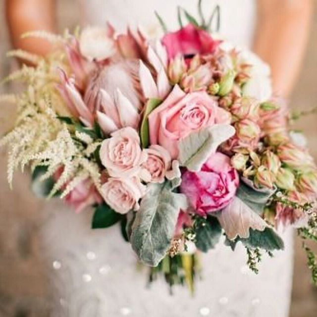 Prettiness via Fiori Flower Studio #pretty #pink #pinkflowers #wedding #bouquet