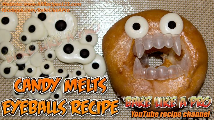 Easy Candy Melts EyeBalls Recipe