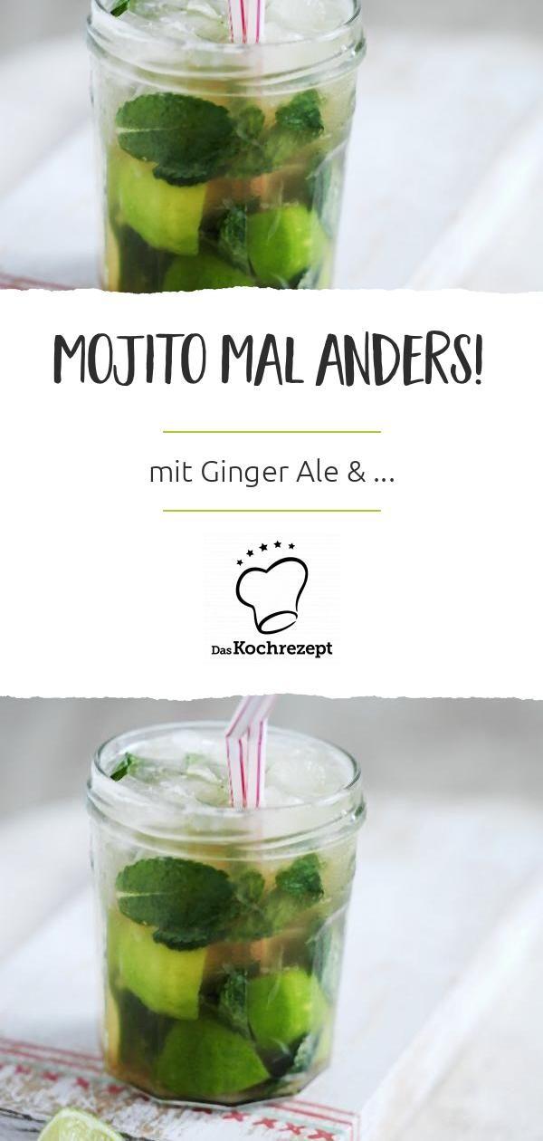 Mojito Mit Ginger Ale Daskochrezept De Kochrezepte Saisonales Themen Ideen Rezept Fruchtige Cocktails Ginger Ale Mojito