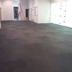 "Rubber Mats (4X6' 3/4"") - Heavy Rubber Flooring 100lb, San Diego CrossFit Equipment"