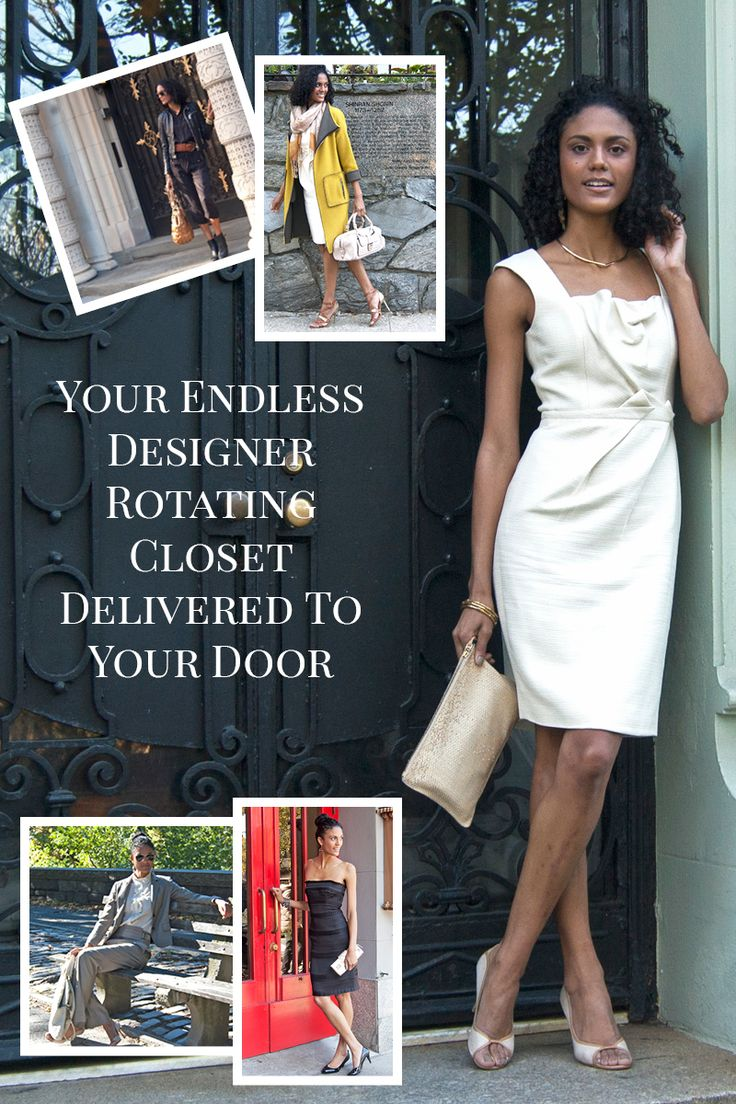Rent a rotating closet of designer fashion delivered to your door - always up to 90% off retail. Try them on at home and keep only what you love. Free shipping both ways