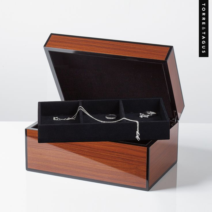 If buying your sweetheart that special piece of Jewelry for Valentine's Day, why not give them that extra bit of #LOVE and pair it with our stunning Lacquered Woodgrain Jewelry box from the #YSS  Beauty of Mixed Metals Collection. #TorreandTagus #JewleryBox #ValentinesDayGift