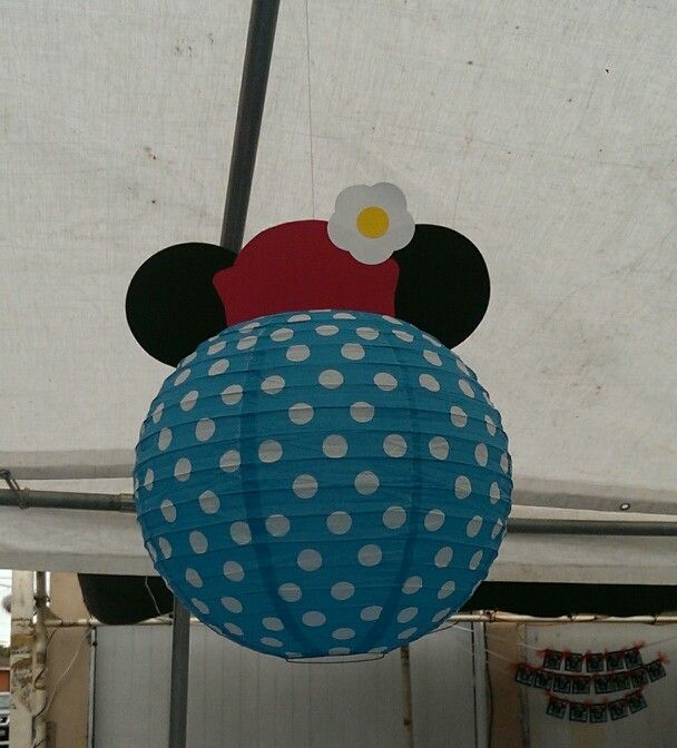 Vintage Minnie Mouse Lantern.