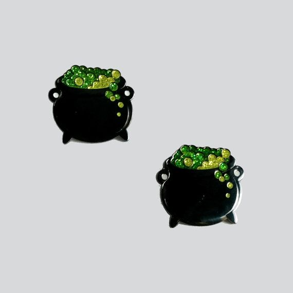Hey, I found this really awesome Etsy listing at https://www.etsy.com/listing/483132647/cauldron-glitter-enamel-pin-lapel-pin