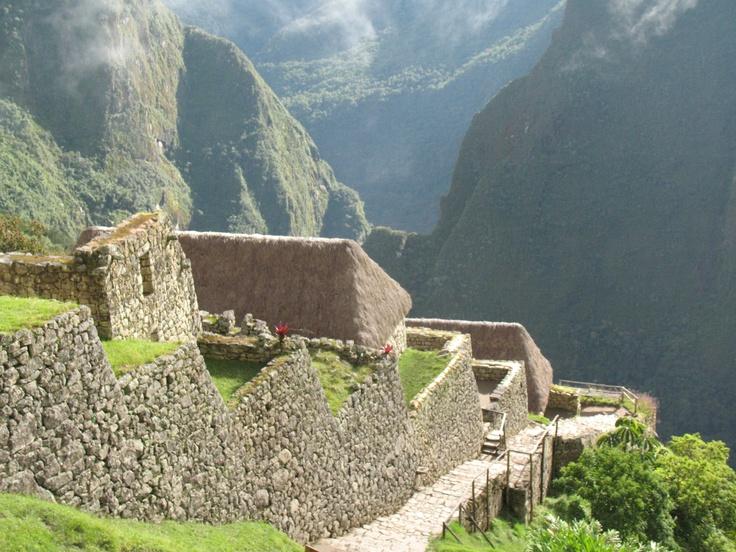 Machu Picchu to Inca Trail Peru #Peru #Incatrail #MachuPicchu
