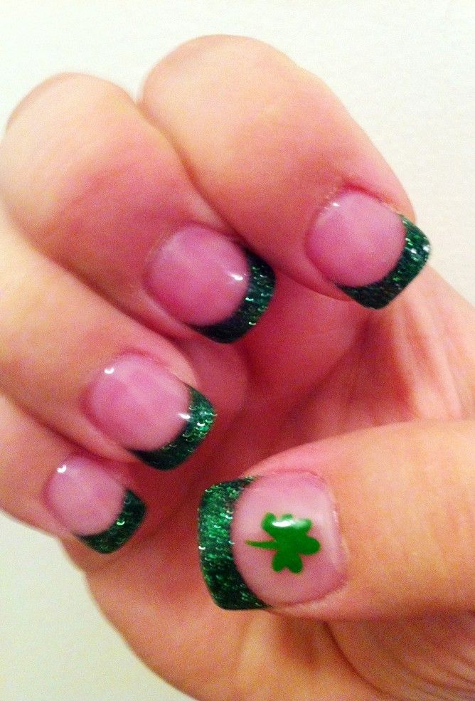 201 best St. Patrick\'s Day acrylic nails images on Pinterest ...
