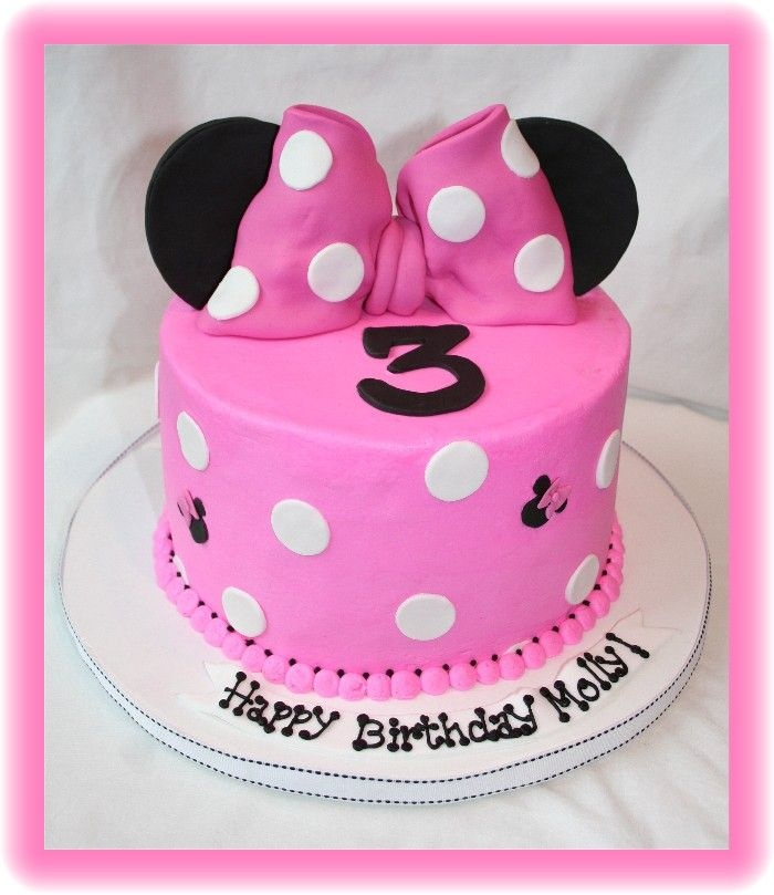 17 best Shes 4 images on Pinterest Minnie mouse cake Birthday
