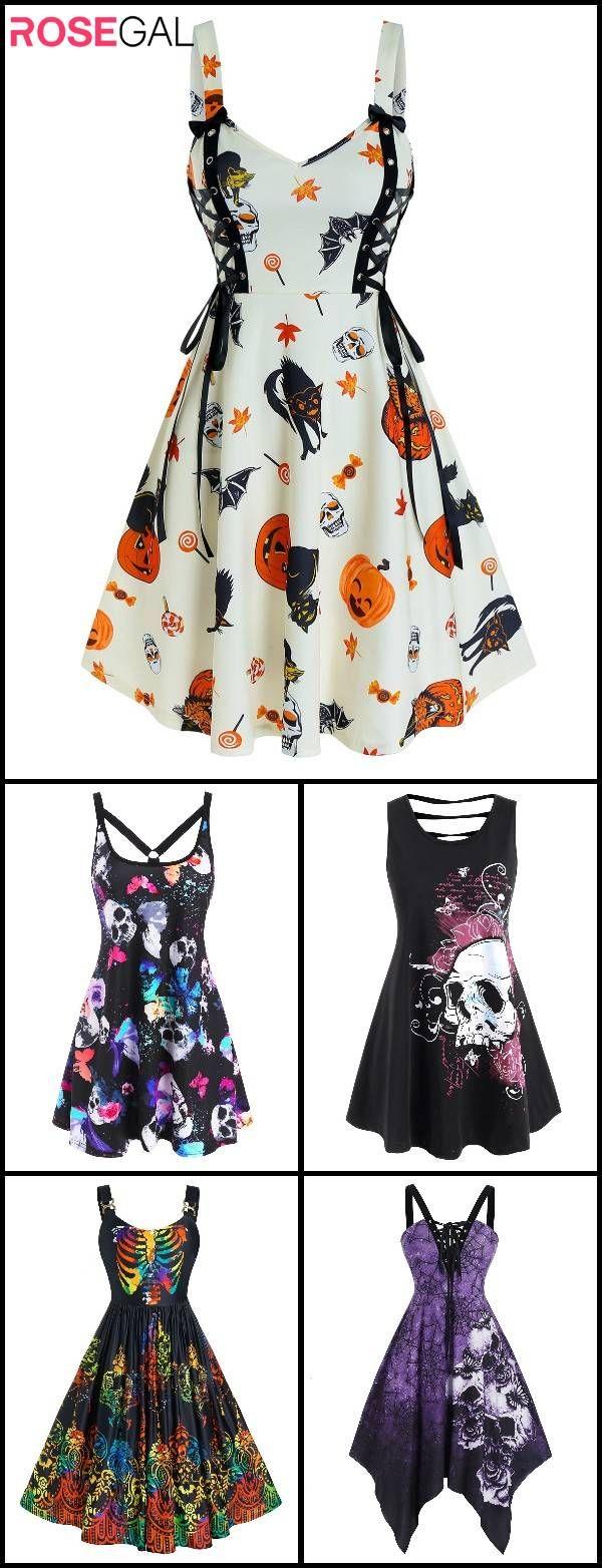 Rosegal 2020 Halloween dress, woman easy Halloween costume