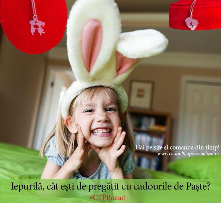 Nu lasa pe maine ce poti comanda azi!   ★Hai pe www.cadoultaupersonalizat.ro si plaseaza o comanda pentru cadouri de Paste!