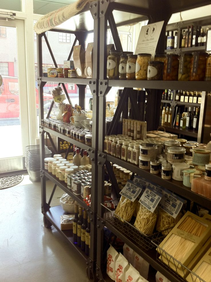 Artisanal pastas, home-made preserves,  a variety of spices and salts…