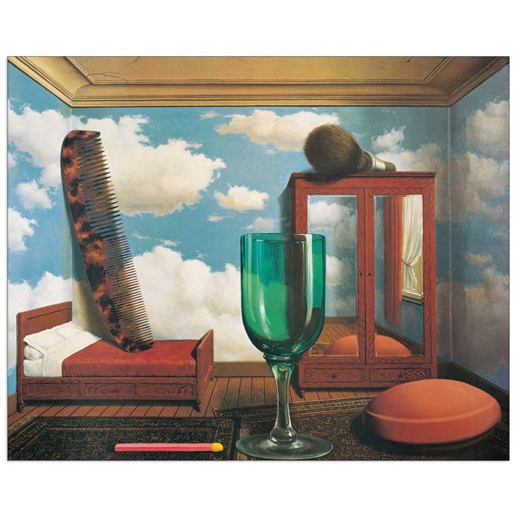 MAGRITTE - Les valeurs 80x64 cm #artprints #interior #design #art #print #Magritte  Scopri Descrizione e Prezzo http://www.artopweb.com/EC21580