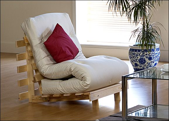 Mito - Single Seat Futon Sofa Bed